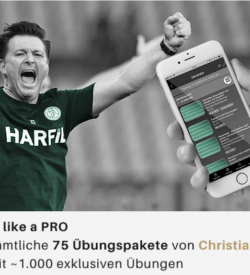 Train Like a Pro - Exklusive Fußballtrainingslehre