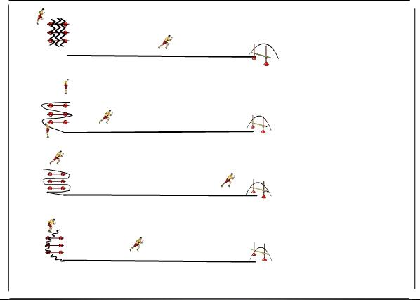 Entrenamiento De F Uacute Tbol Circuito De Estaciones De Velocidad